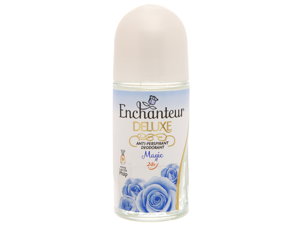 Lăn khử mùi Enchanteur Deluxe Magic chai 50ml 2