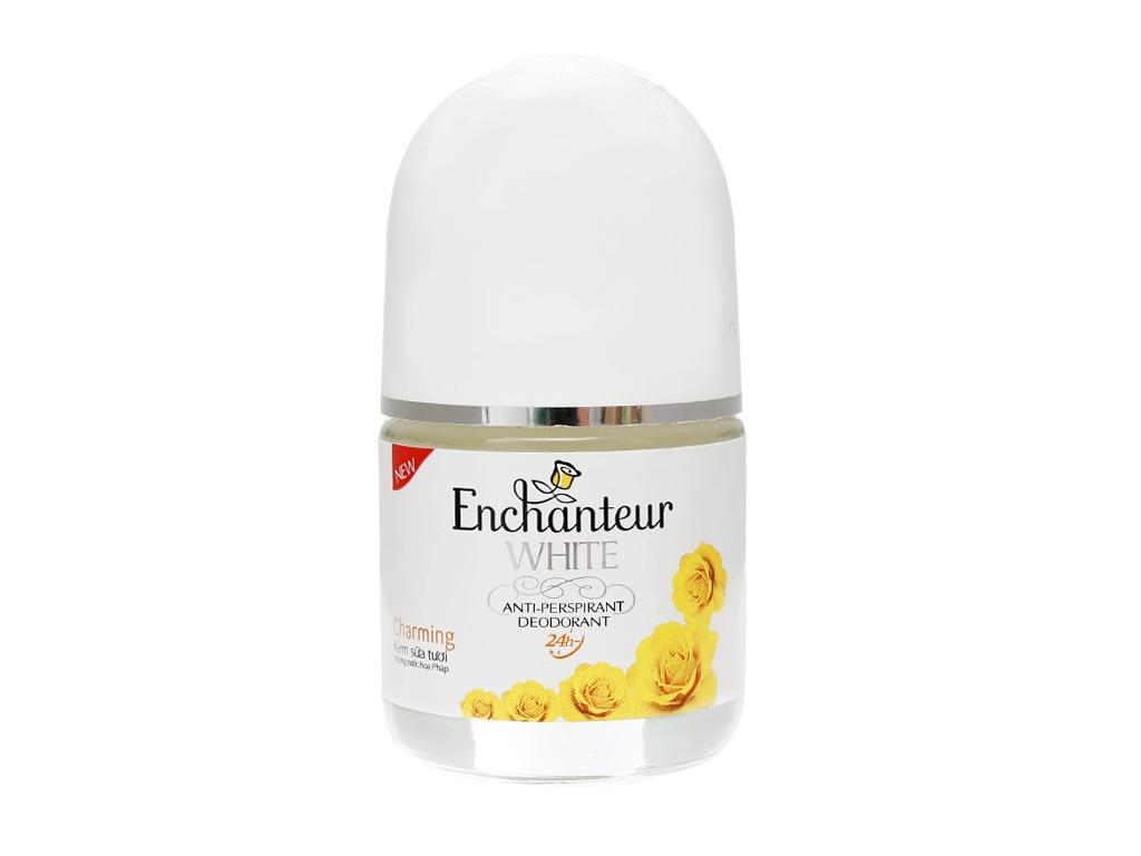 Lăn khử mùi trắng da Enchanteur Deluxe Charming chai 25ml 1