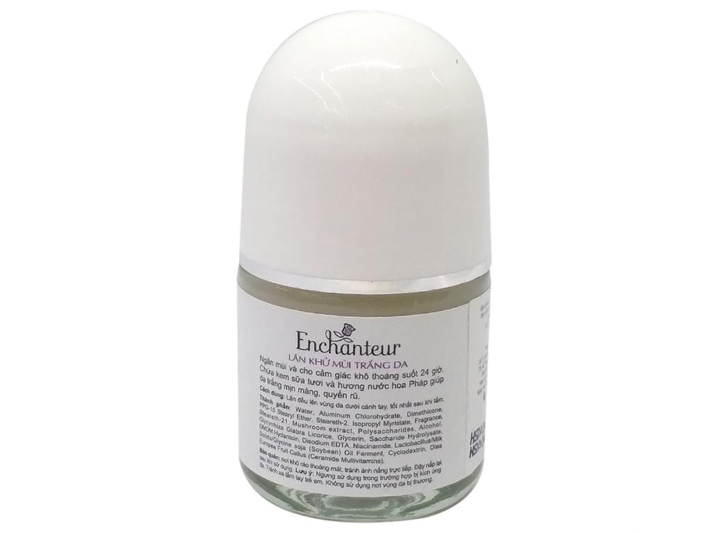 Lăn khử mùi trắng da Enchanteur Deluxe Sensation 25ml 2