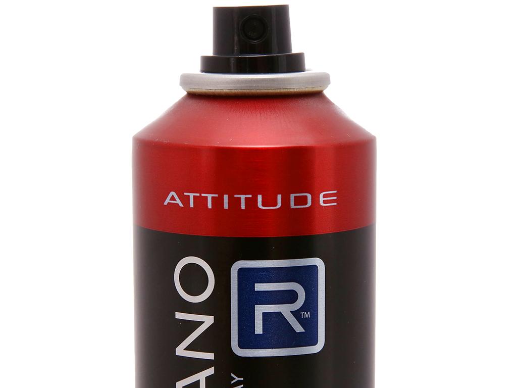 Xịt ngăn mùi toàn thân Romano Attitude 150ml 3