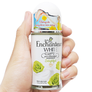 Lăn khử mùi trắng da Enchanteur White Delightful 50ml