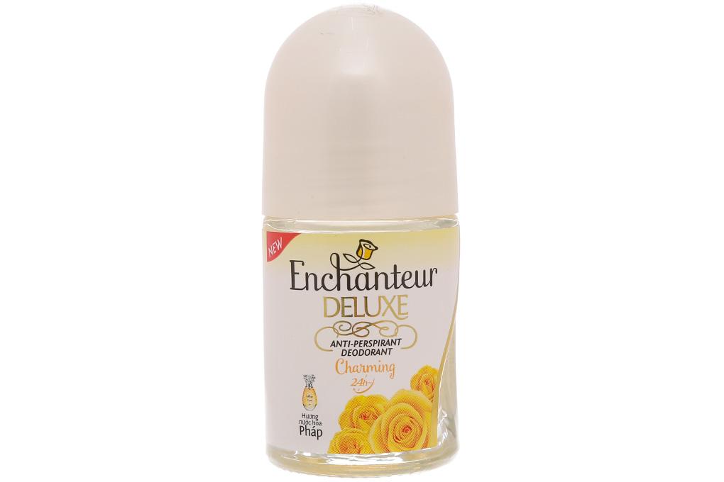 Lăn khử mùi Enchanteur Deluxe Charming chai 25ml 2