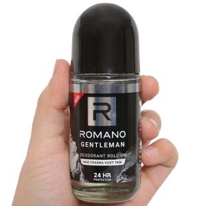 Lăn khử mùi Romano Gentleman khô thoáng vượt trội 50ml
