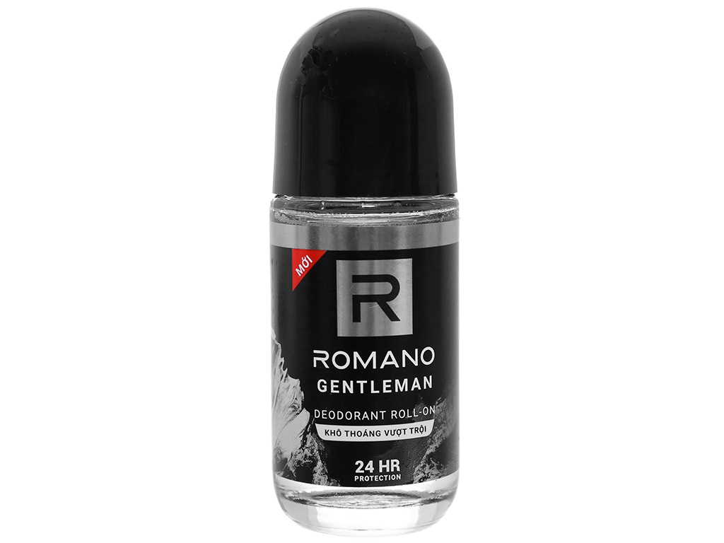Lăn khử mùi Romano Gentleman chai 50ml 1