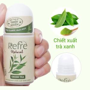Lăn khử mùi chiết xuất thiên nhiên Refre Natural Green Tea 40ml
