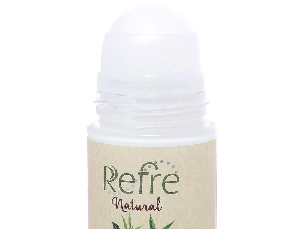 Lăn khử mùi chiết xuất thiên nhiên Refre Natural Green Tea 40ml 3