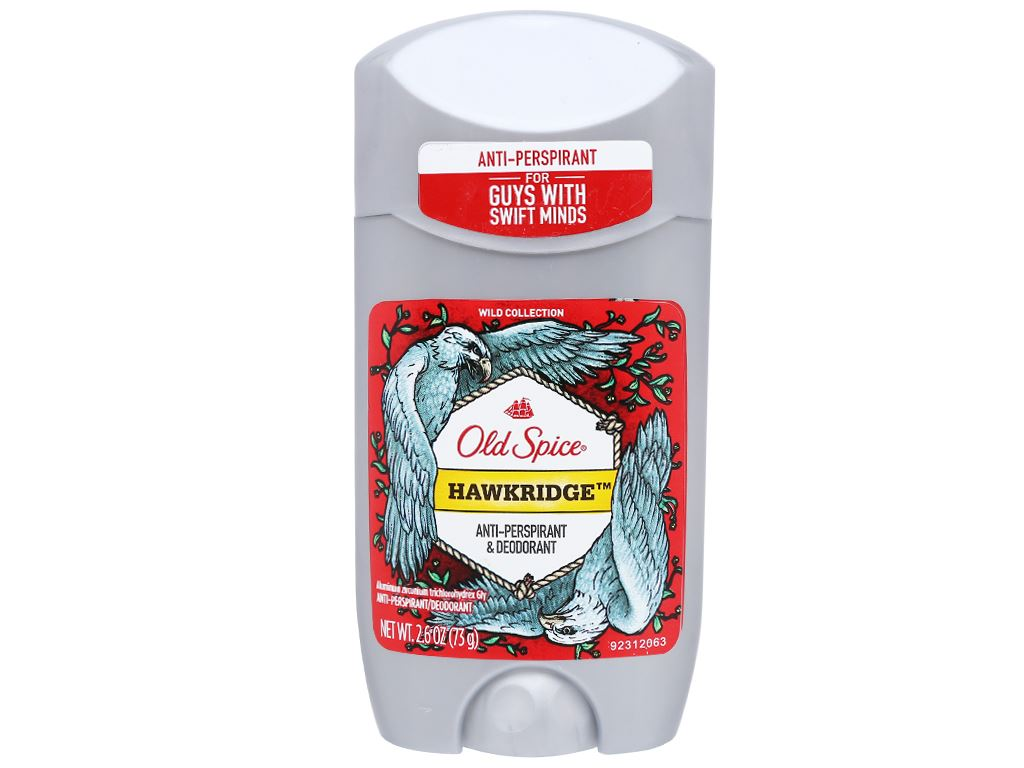 Sáp khử mùi Old Spice Hawkridge Anti-Perspirant Deodorant 73g 1