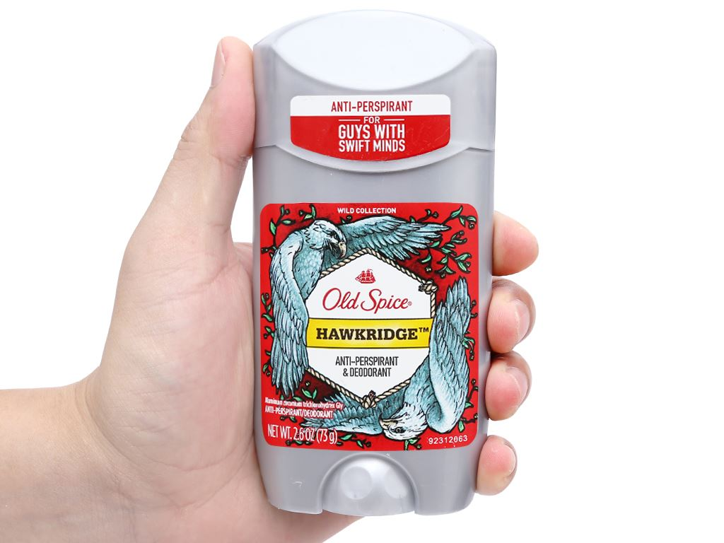 Sáp khử mùi Old Spice Hawkridge Anti-Perspirant Deodorant 73g 4