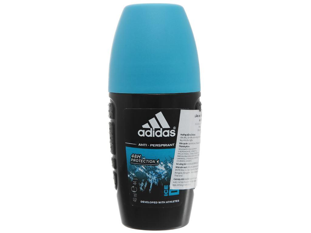 Lăn khử mùi nam Adidas Ice Dive ngăn mồ hôi 40ml 1