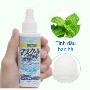 Dung dịch xịt làm mát khử mùi Tipo's kháng khuẩn 100ml