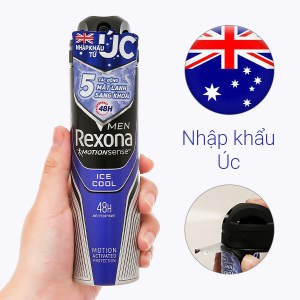 Lăn khử mùi Rexona Men Ice Cool 150ml