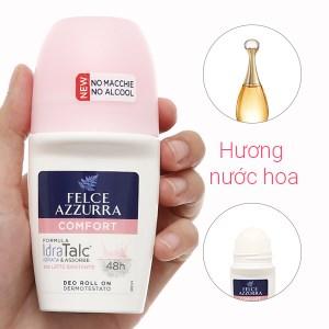 Lăn khử mùi hương nước hoa Felce Azzurra Comfort 50ml