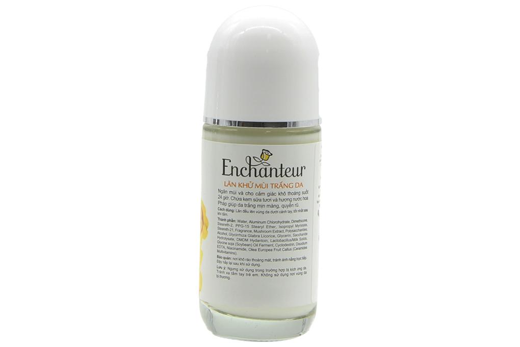 Lăn khử mùi Enchanteur White Charming 50ml