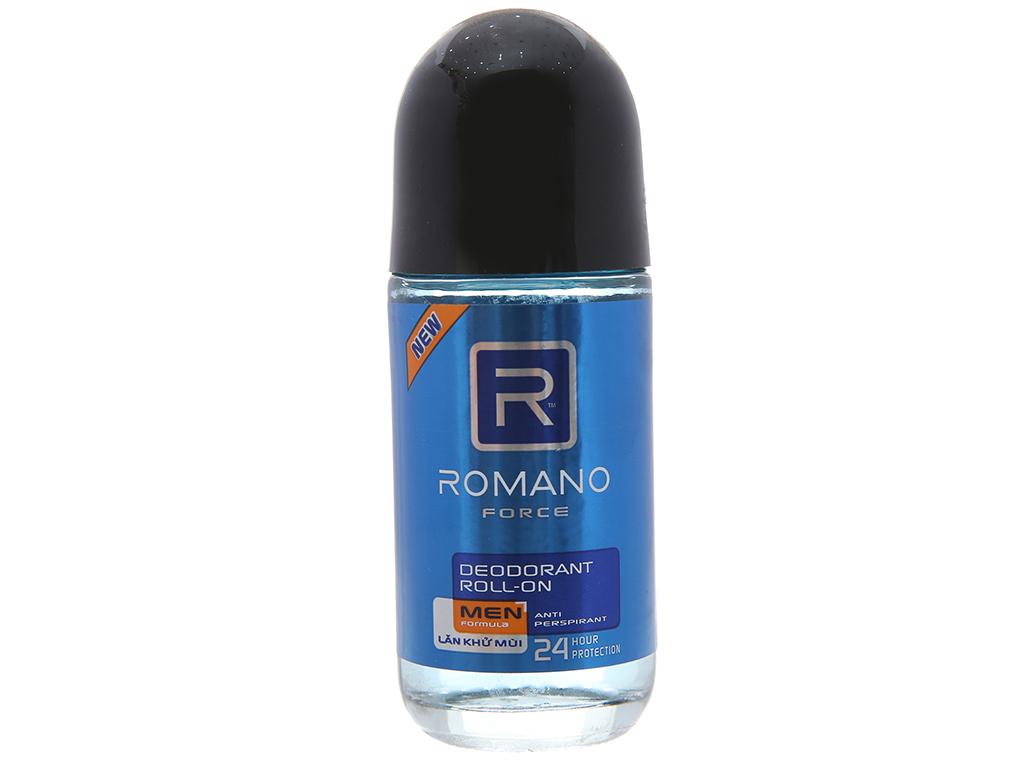 Lăn khử mùi Romano Force chai 50ml 1