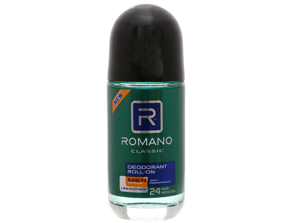 Lăn khử mùi Romano Classic 50ml 2