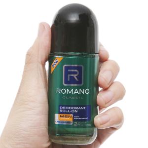 Lăn khử mùi Romano Classic Anti Perspirant 50ml