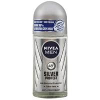 Lăn khử mùi Nivea Men Silver Protect Phân tử bạc chai 50ml