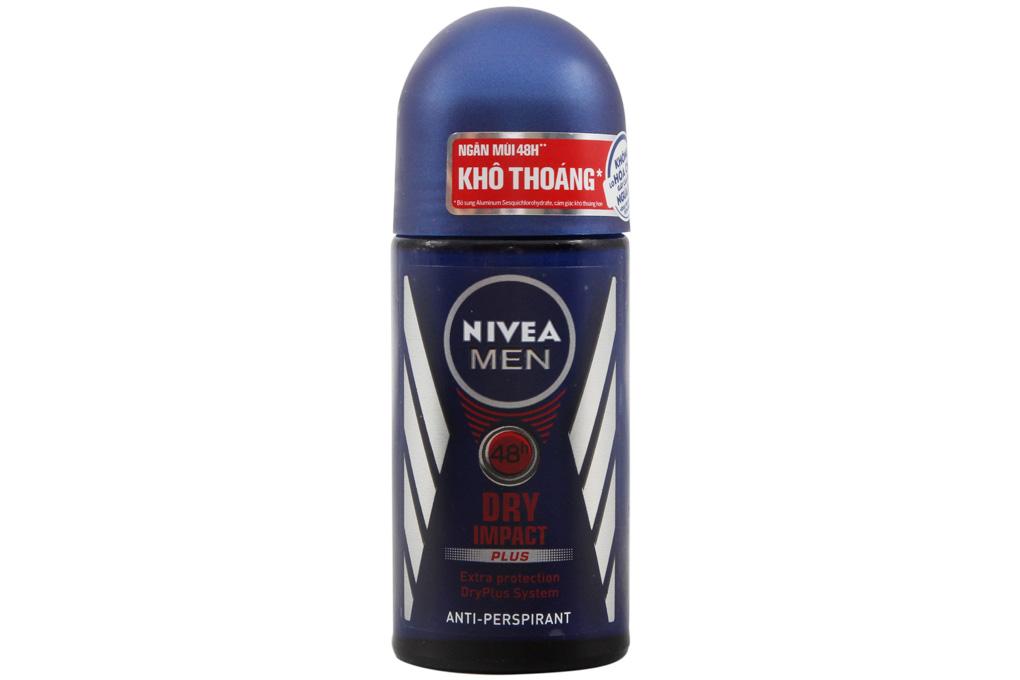 Lăn ngăn mùi Nivea Men Dry Impact Plus 50ml