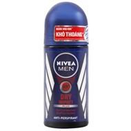 Lăn khử mùi Nivea Men Dry Impact Khô thoáng chai 50ml