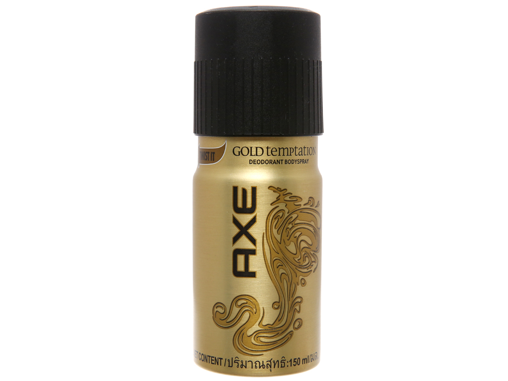 Xịt khử mùi AXE Gold Temptation 150ml 2