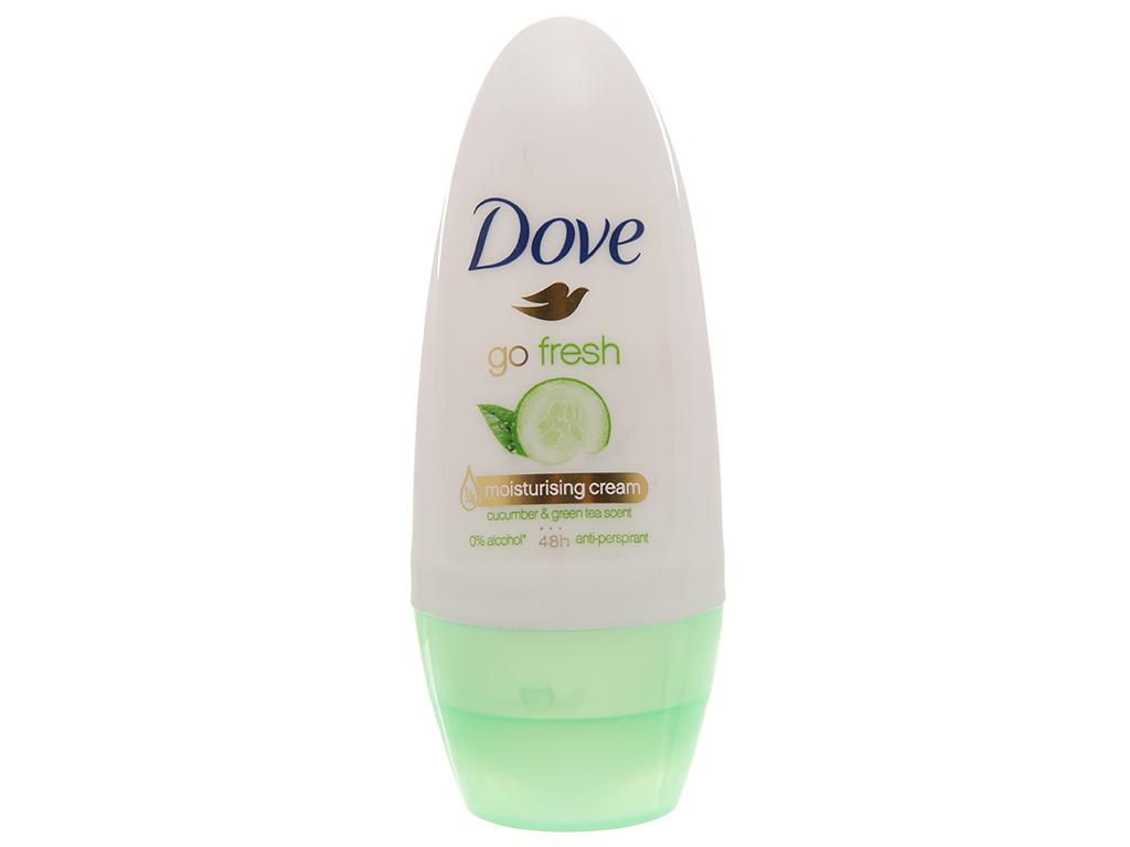 Lăn khử mùi Dove Go Fresh chai 40ml 2