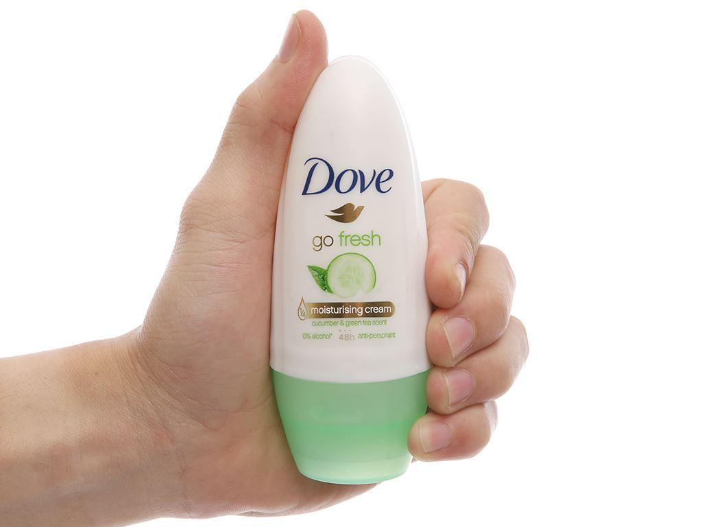 Lăn khử mùi Dove Go Fresh chai 40ml 4