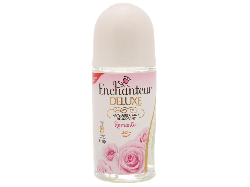 Lăn khử mùi Enchanteur Deluxe Romantic chai 50ml 2