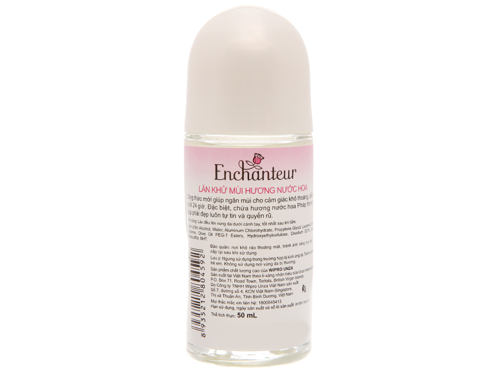 Lăn khử mùi Enchanteur Deluxe Romantic chai 50ml 3