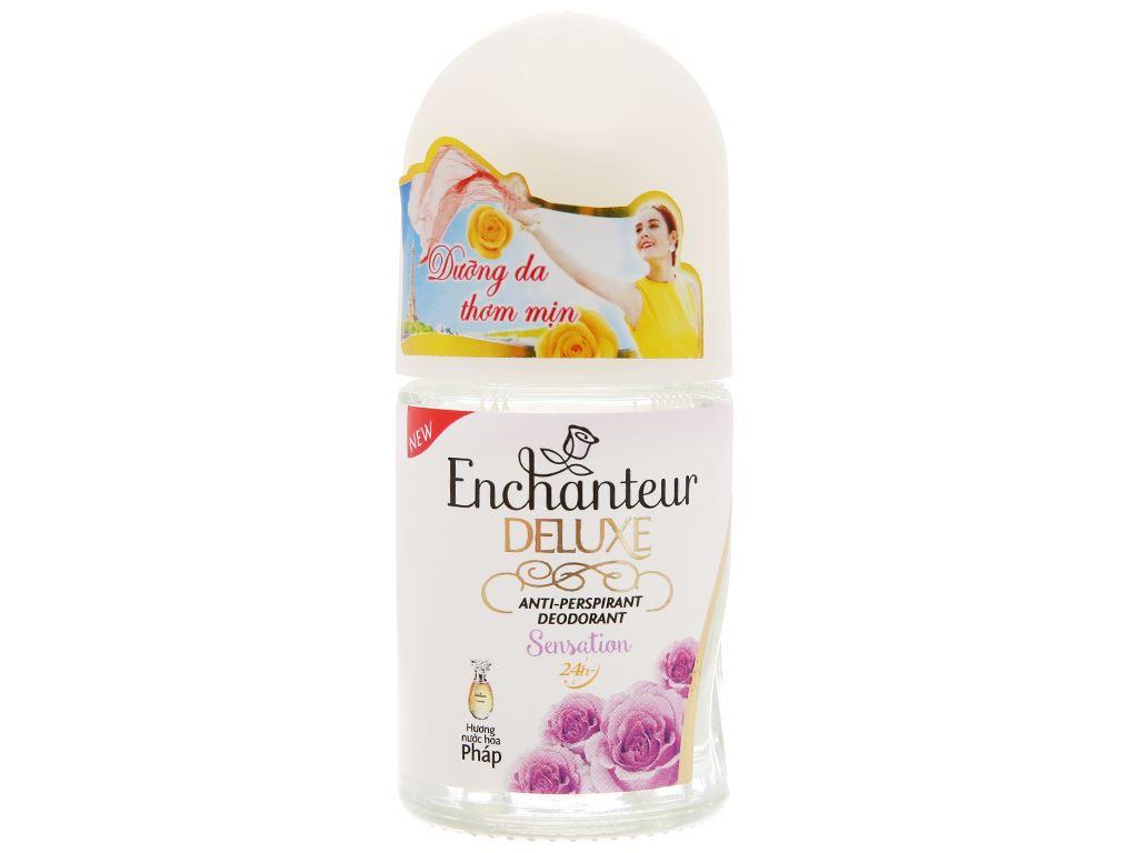 Lăn khử mùi Enchanteur Sensation chai 25ml 1