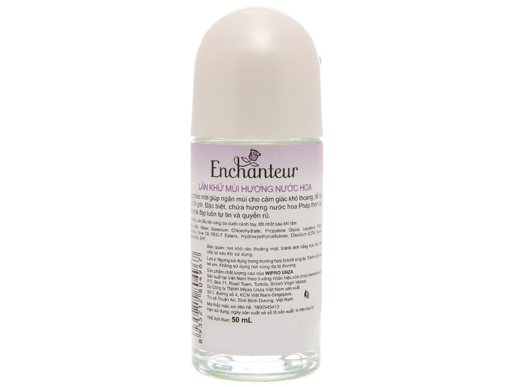 Lăn khử mùi Enchanteur Deluxe Sensation 50ml 3