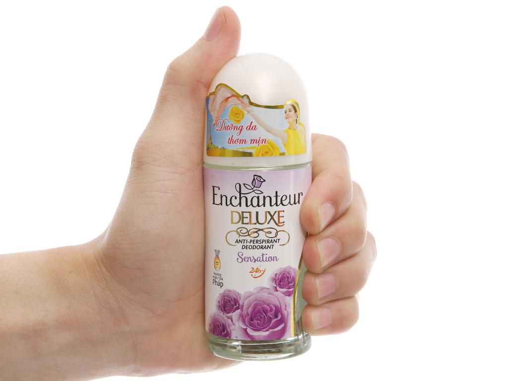 Lăn khử mùi Enchanteur Deluxe Sensation 50ml 5