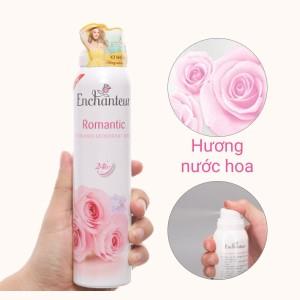 Xịt khử mùi hương nước hoa Enchanteur Romantic 150ml
