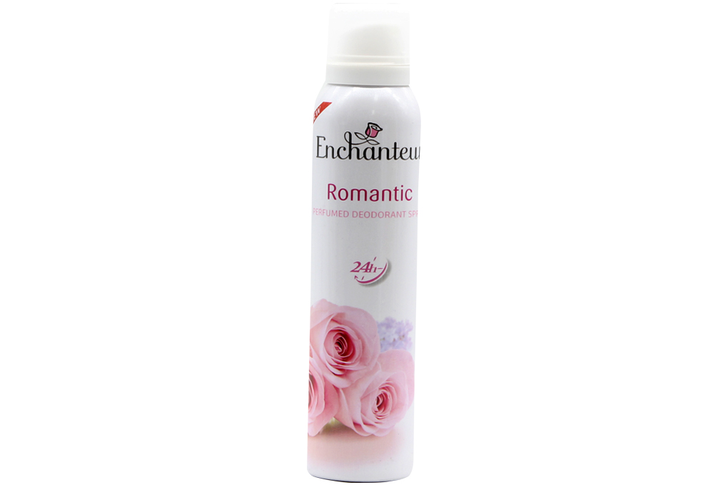 Xịt khử mùi Enchanteur Romantic 150ml