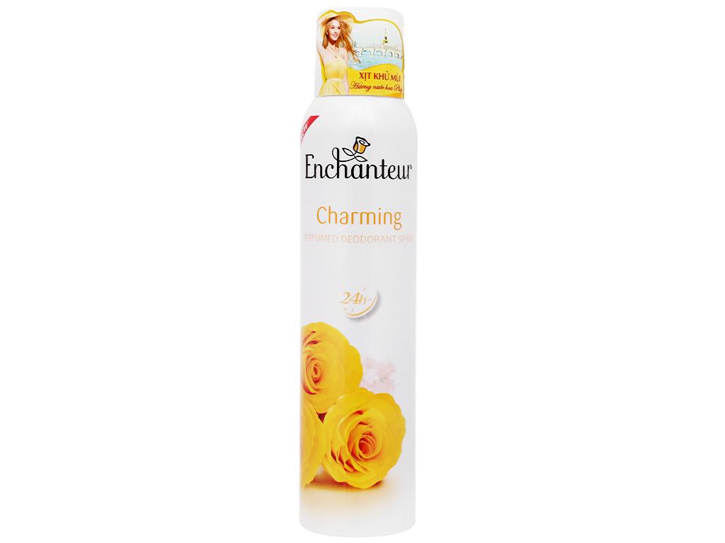 Xịt khử mùi Enchanteur Charming 150ml 2
