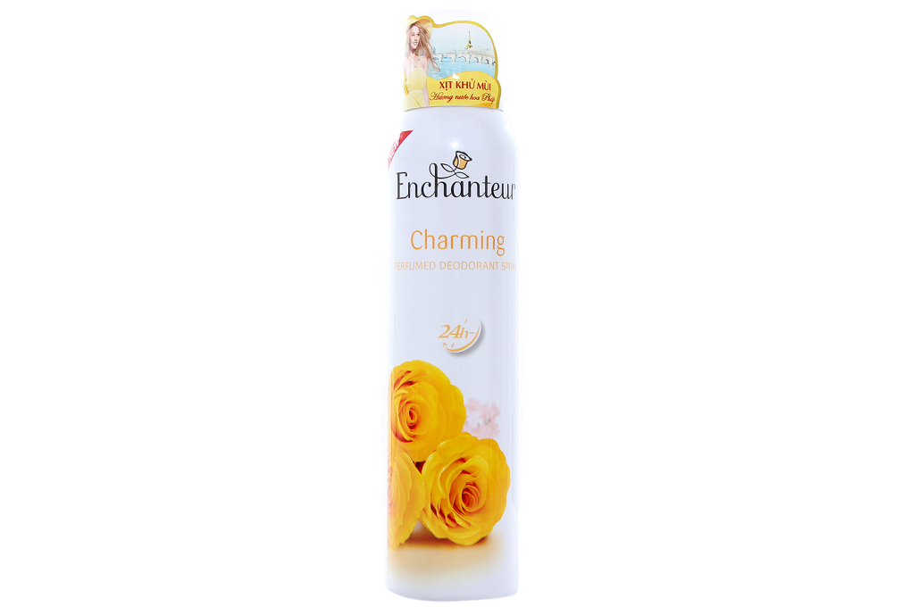 Xịt khử mùi Enchanteur Charming 150ml