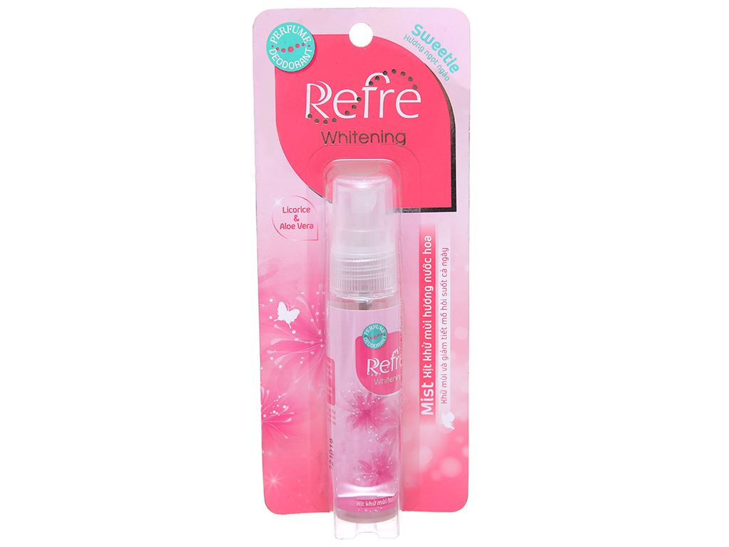 Xịt khử mùi hương nước hoa Refre Whitening Sweetie 30ml 1