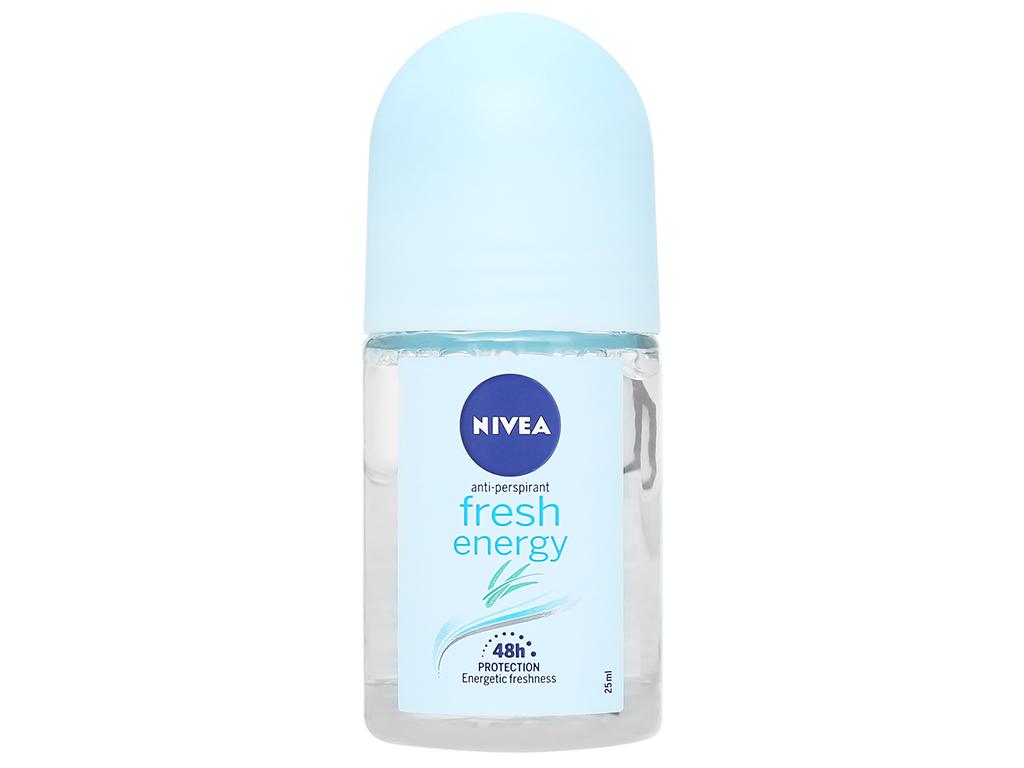 Lăn khử mùi Nivea Fresh Energy 25ml 2