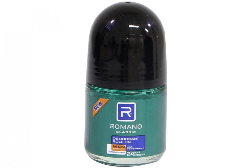 Lăn khử mùi Romano Classic chai 20ml 2