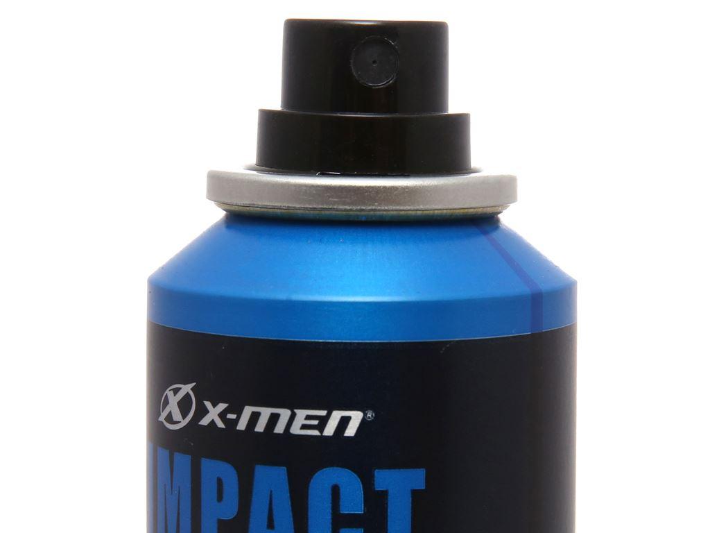 Xịt khử mùi X-Men Impact chai 100ml 4