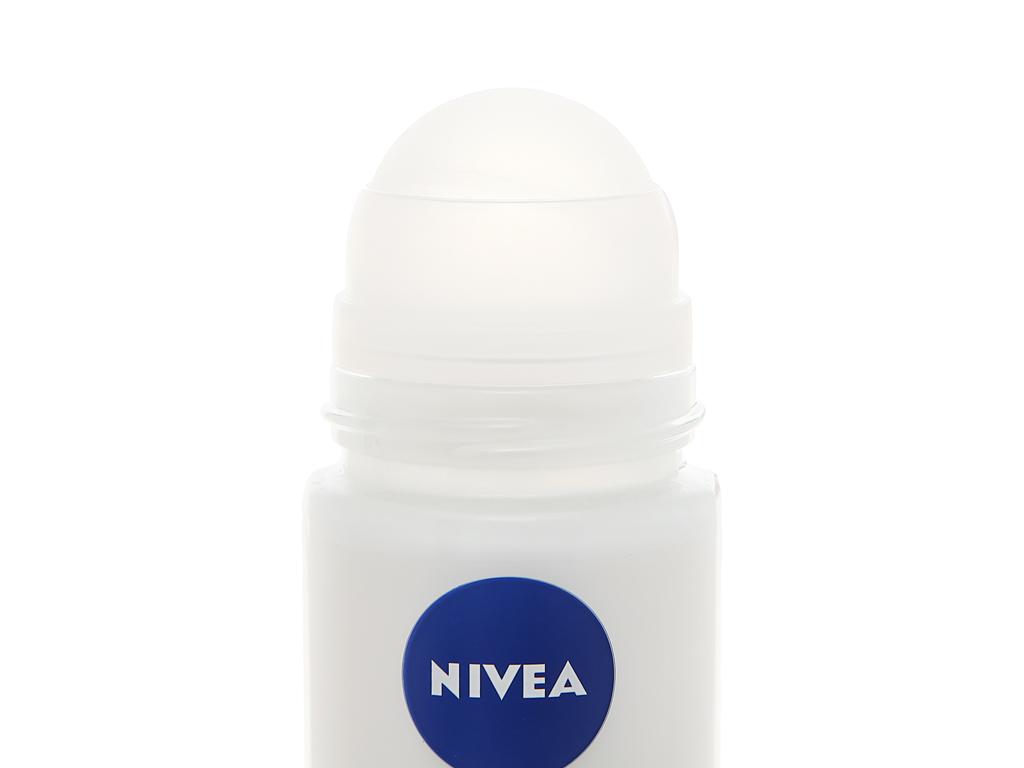 Lăn khử mùi Nivea Whitening Happy Shave trắng mịn làm dịu da 50ml 4