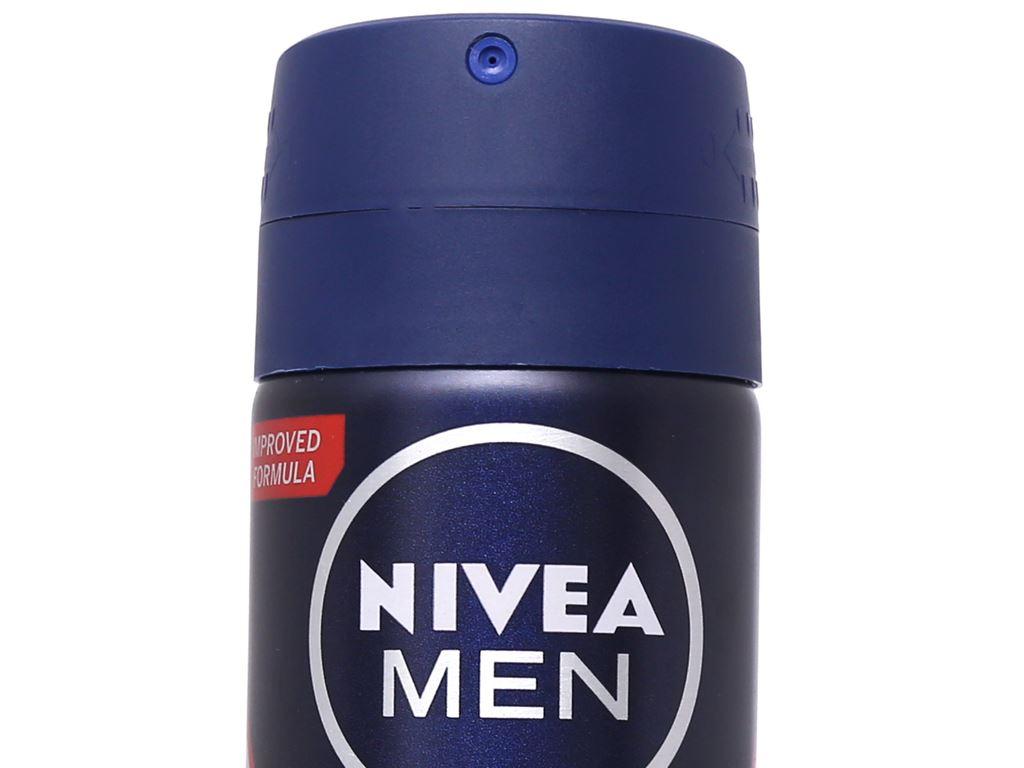 Xịt ngăn mùi Nivea Men Dry Impact khô thoáng 150ml 4
