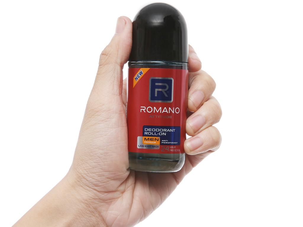 Lăn khử mùi Romano Attitude Anti Perspirant 50ml 5