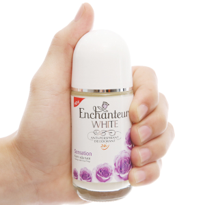 Lăn khử mùi trắng da Enchanteur White Sensation 50ml