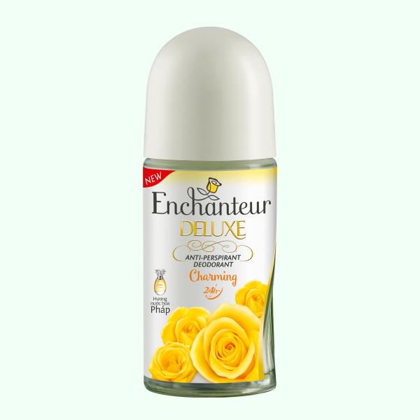 Lăn khử mùi hương nước hoa Enchanteur Deluxe Charming 75ml