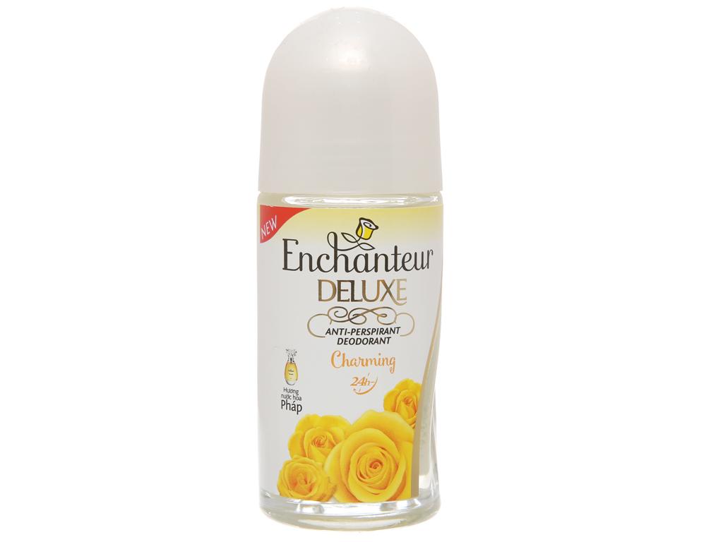 Lăn khử mùi hương nước hoa Enchanteur Deluxe Charming 50ml 2