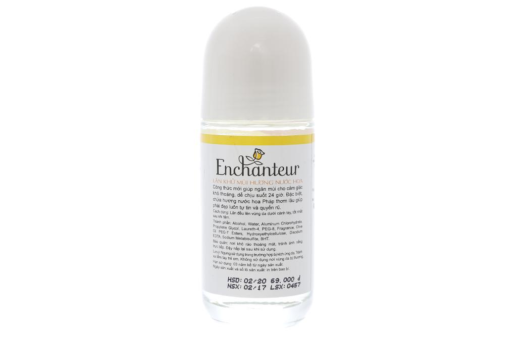 Lăn khử mùi Enchanteur Charming 50ml