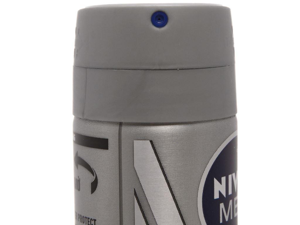 Xịt khử mùi Nivea Men Silver Protect chai 150ml 4