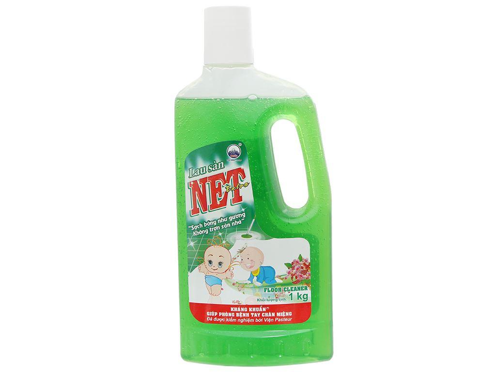 Nước lau sàn NET Extra chai 1kg 1