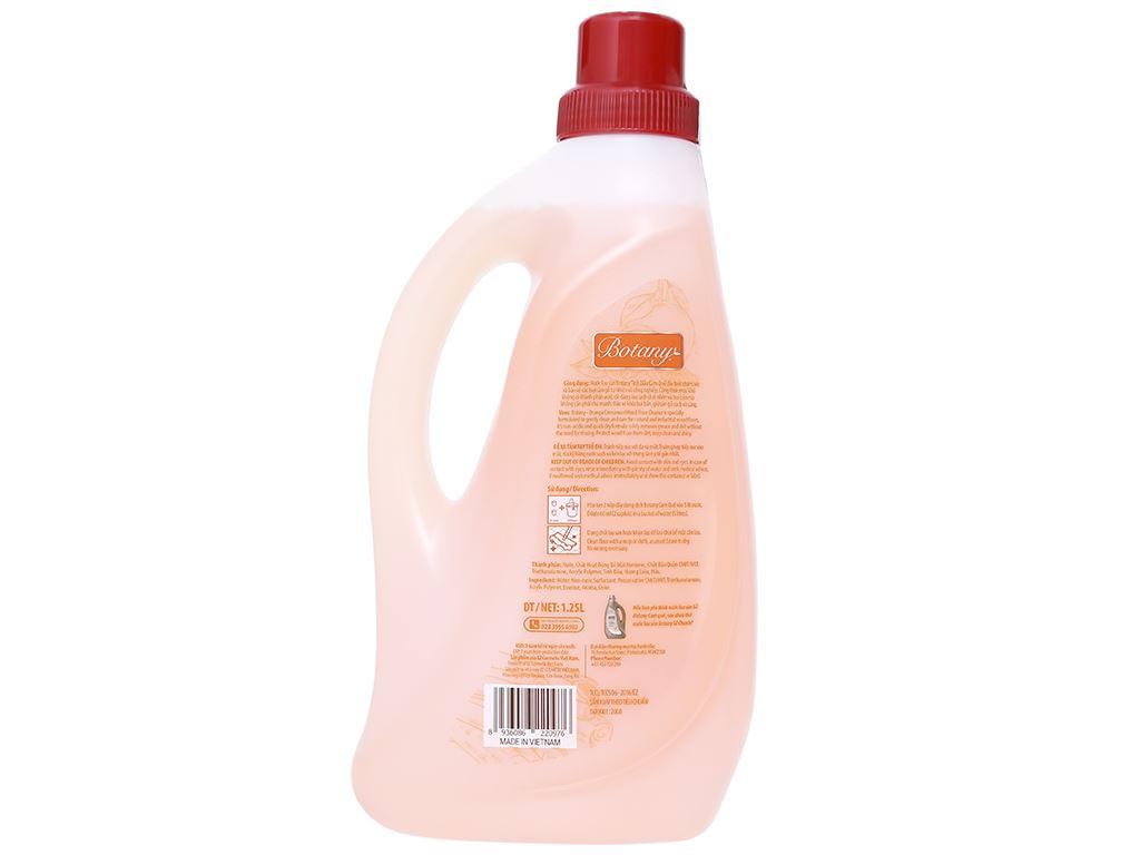 Nước lau sàn Botany dành cho sàn gỗ tinh dầu cam quế chai 1.25 lít 3