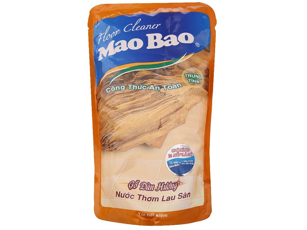 Nước lau sàn Mao Bao gỗ Đàn Hương 1L 2